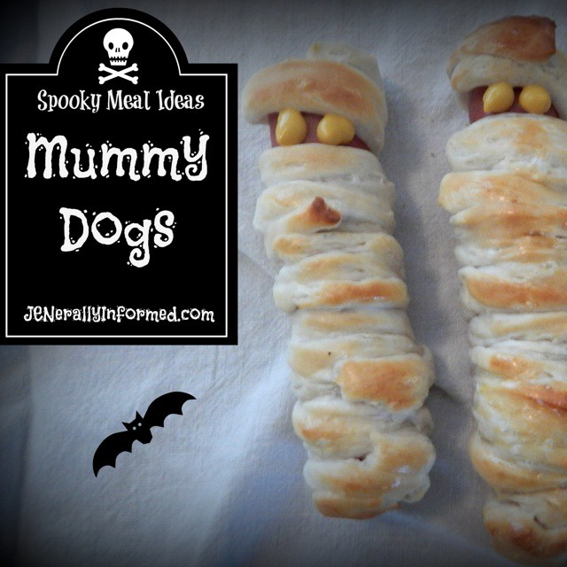 I was invited to share a recipe of my choosing using #hillshire farms beef franks, meet the Mummy Dog! #cooking #food #halloween #BringHillshireHome #ad #funfood #cookingwithkids