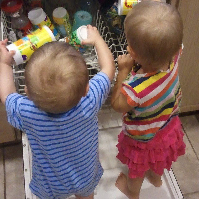 Two toddlers in the house means double the trouble! Don't tun your back for even a second #mommyreality #parenting #toddlers #realparenting #reallife #funny