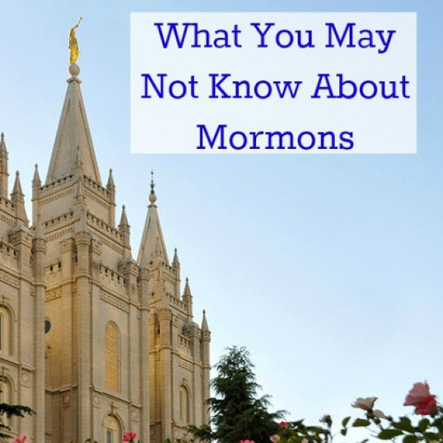 Today on JENerally Informed I am sharing a few things you may not know about Mormons. I am grateful for the great discussion from many people that is going on with this. Thanks guys! #Mormon #lds #happybeingme