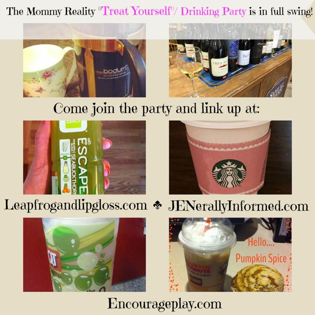 We have seen quite a few beverage/treats in this week's #mommyreality challenge, but the party isn't complete w/o you! Go buy your favorite drink and snap a pic and come share! @leapfrogandlipgloss #drinks #treats #real #reallife #humor #moms
