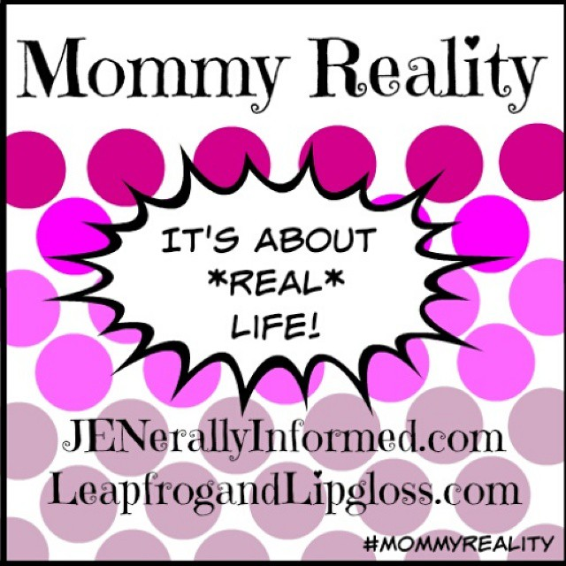 Time for a new #mommyreality challenge and introducing a newly redesigned button. If you are #mom we would love to have you come share your own #mommyreality. Link in profile. @leapfrogandlipgloss @britishmumusa