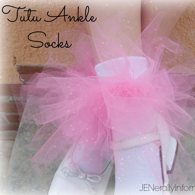 "My little.princess Rebekah and I thought up this cute craft to glitz up her ""boring"" socks. These ankle tutus turned out super cute and were cheap and easy to make! You can follow the link in my profile to learn how to make a pair #kidfashion #kidstyle #princesscrafts #practicallyperfectprincess #princess"