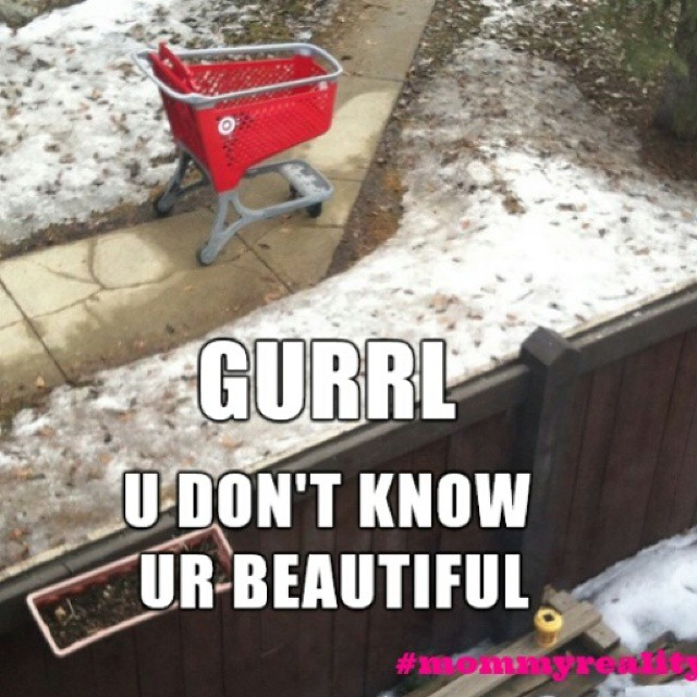 Here's the spectacular view that won the last #mommyreality challenge! I can just imagine that as the sun rises and sets, the glint of red off this cart has to be breathtaking! Thank you @deliberatemom for submitting your awesome pic @leapfrogandlipgloss